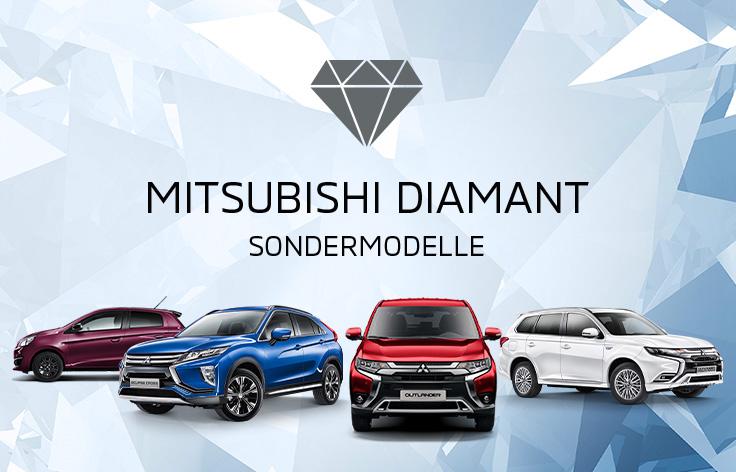 Lassen Sie sich begeistern von unseren glänzend aufgelegten Diamant Sondermodellen.